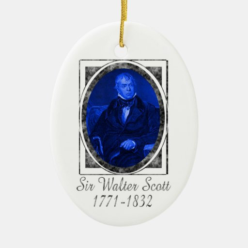 Sir Walter Scott Ornament