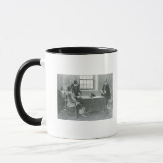 Sir William Berkeley Surrendering Mug