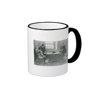 Sir William Berkeley Surrendering Mug