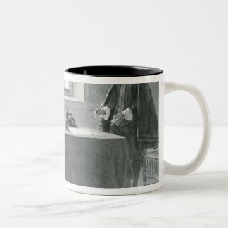 Sir William Berkeley Surrendering Two-Tone Coffee Mug
