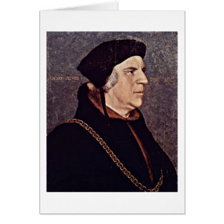 Sir William Butts By Hans Holbein The Younger Card