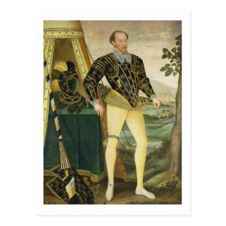 Sir William Drury, of Hawstead, Suffolk (1527-79), Postcard
