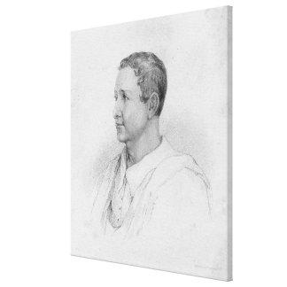 Sir William Gell Canvas Print