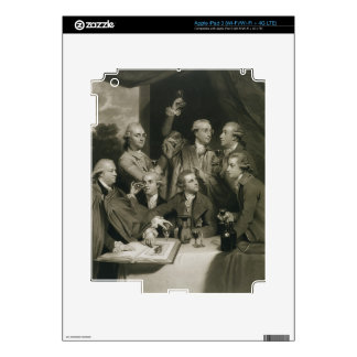 Sir William Hamilton (1730-1803) with other Connoi Skin For iPad 3