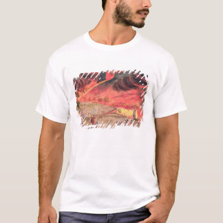 Sir William Hamilton  Studying the Eruption T-Shirt
