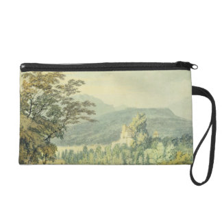 Sir William Hamilton's Villa, c.1795 (w/c over pen Wristlet Purse