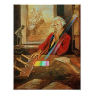 Sir William Herschel Poster