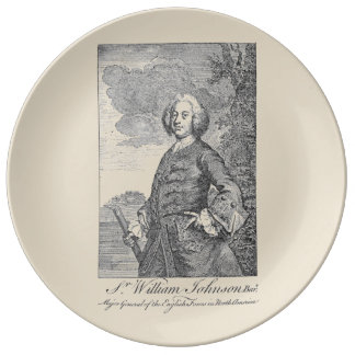 Sir William Johnson Dinner Plate