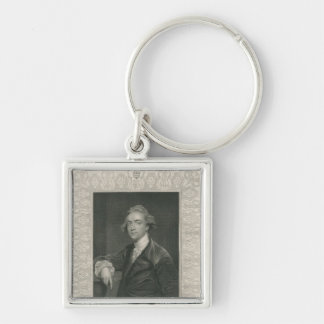 Sir William Jones from 'Gallery of Portraits' Keychain