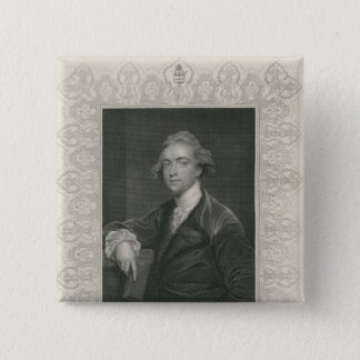 Sir William Jones from 'Gallery of Portraits' Pinback Button