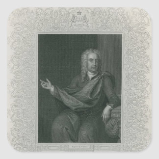 Sir William Pulteney, Earl of Bath Square Sticker