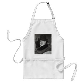 Sir Winston Churchill Adult Apron