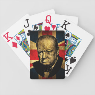 Sir Winston Churchill Bicycle Playing Cards