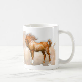 Sir Winston Churchill Horse Quote Classic White Coffee Mug