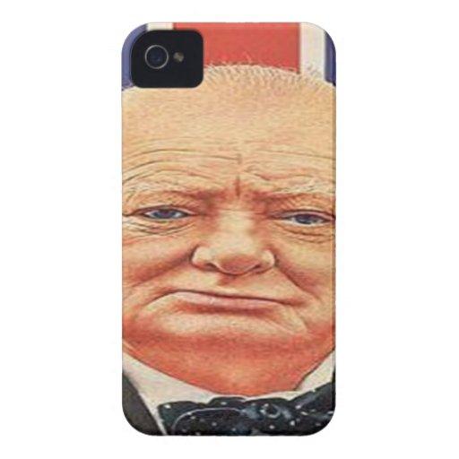 Sir Winston Churchill iPhone 4 Cárcasa