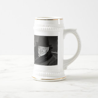 Sir Winston Churchill 18 Oz Beer Stein