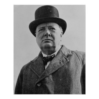 Sir Winston Churchill Posters