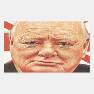 Sir Winston Churchill Rectangular Altavoces