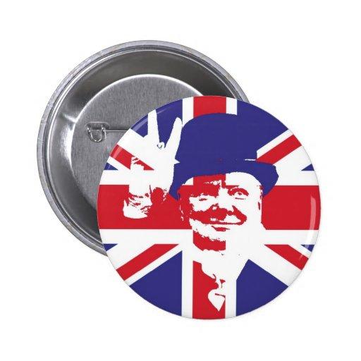 Sir Winston Churchill Pin