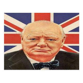 Sir Winston Churchill Postcard