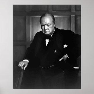 Sir Winston Churchill print