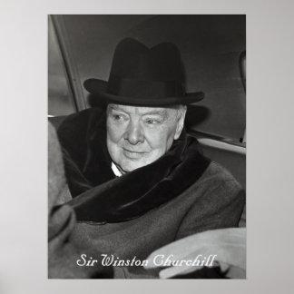 Sir Winston Churchill Póster
