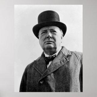 Sir Winston Churchill Poster