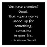 Sir Winston Churchill Quote Posters