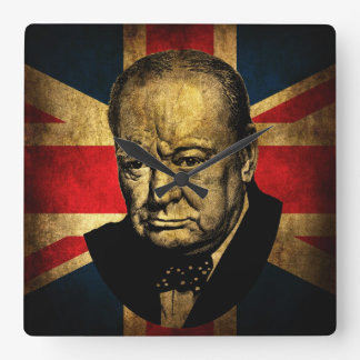 Sir Winston Churchill Reloj Cuadrado