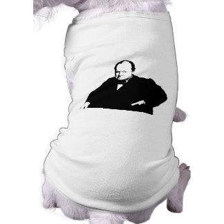 Sir Winston Churchill Camisa De Perrito