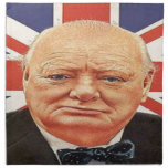 Sir Winston Churchill Servilleta