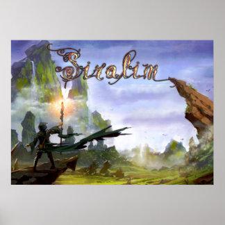 Siralim Poster (Title Screen)