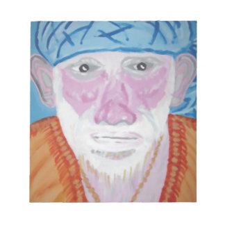 SIRDI Sai Baba SaiBaba Guru Divine Blessing Yoga Notepad