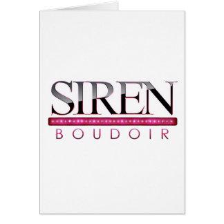 Siren Boudoir ~ Photography by Melanie Ramiro Card