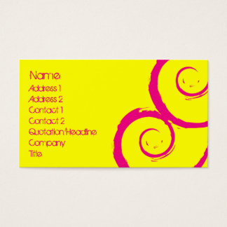 Siren Business Card