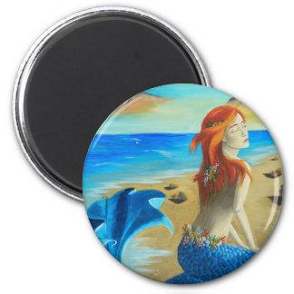 Siren - mermaid fridge magnet