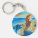 Siren - mermaid key chains