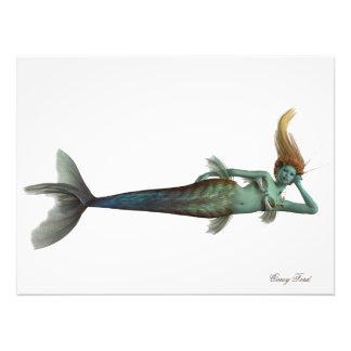Siren Mermaid Photo Print
