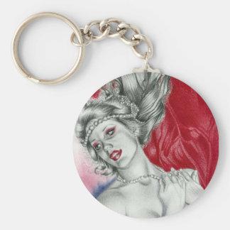 Siren Of Love Keychain
