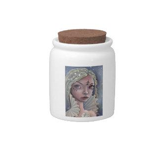Siren of Titan Candy Jar