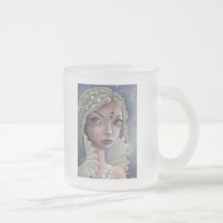 Siren of Titan Frosted Glass Coffee Mug