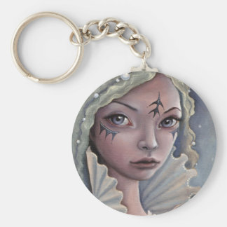 Siren of Titan Basic Round Button Keychain