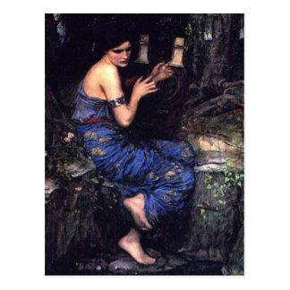 Siren Playing Music for Sailors Postcard