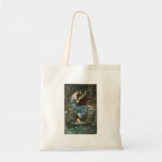 Siren Playing Music for Sailors Tote Bag