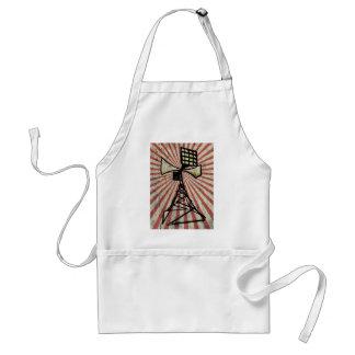 Siren radio tower adult apron