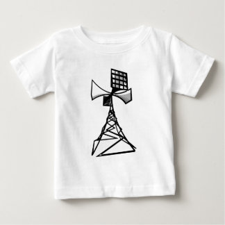 Siren radio tower baby T-Shirt