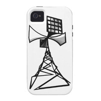 Siren radio tower Case-Mate iPhone 4 case