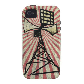 Siren radio tower vibe iPhone 4 cover