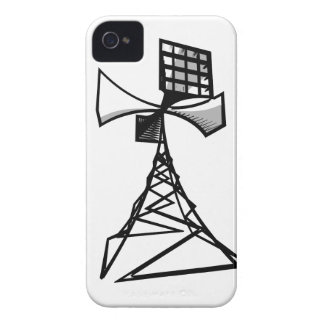 Siren radio tower iPhone 4 cases