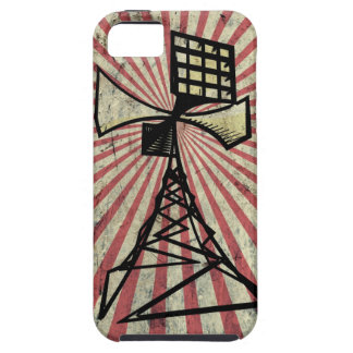 Siren radio tower iPhone 5 cover